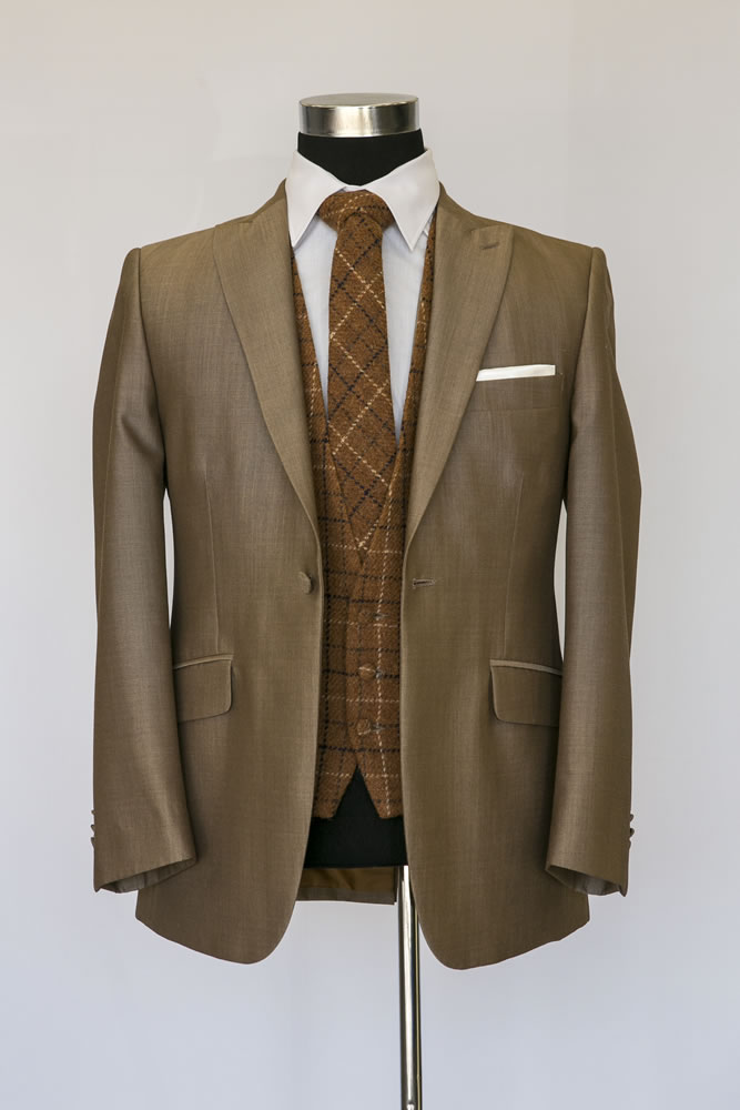 Beige Lounge Suit