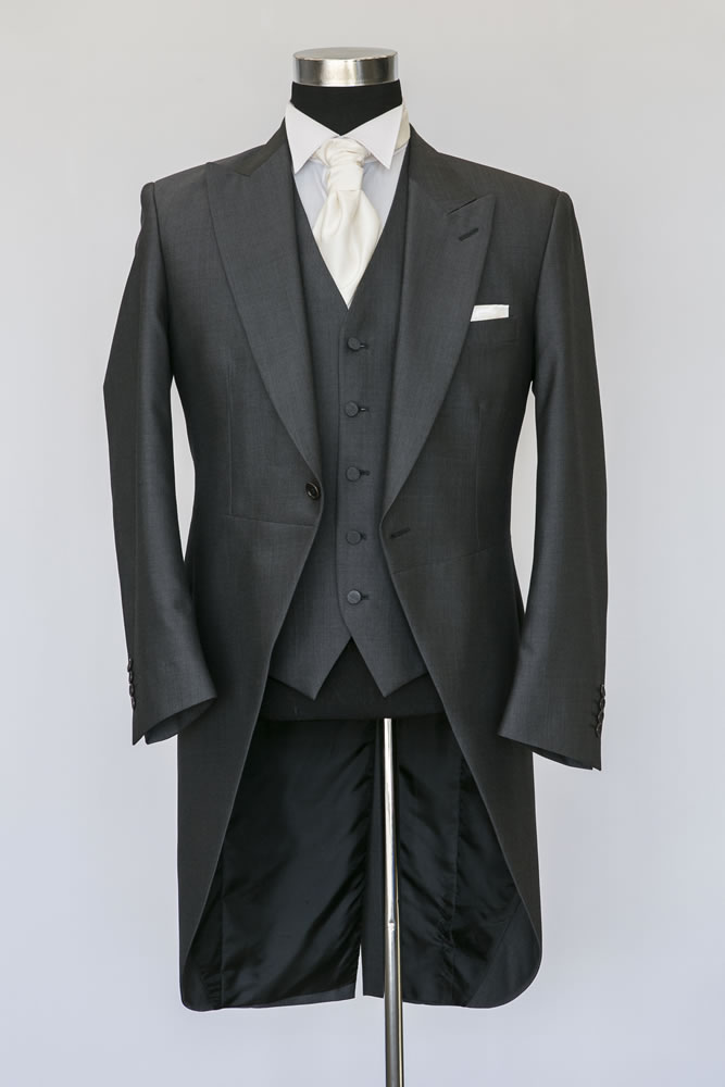 Charcoal Grey Morning Suit