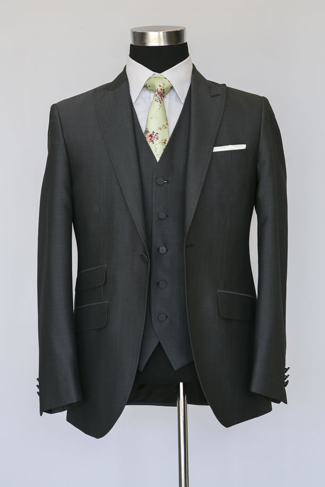 Charcoal Lounge Suit