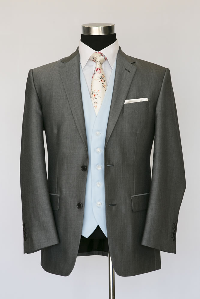 Silver Mohair Lounge Suit 2