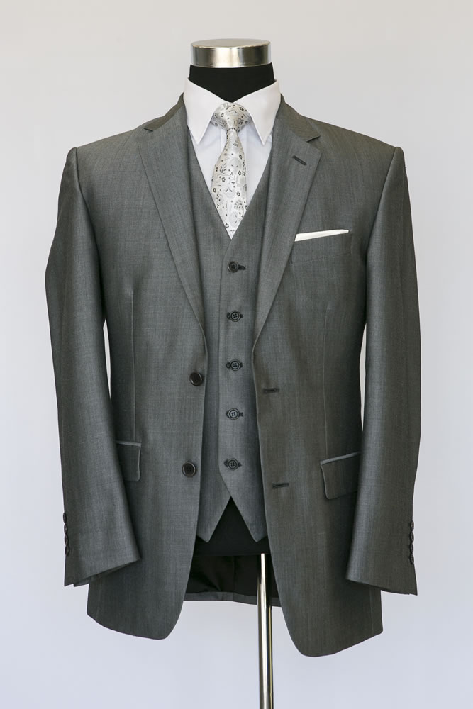 Silver Mohair Lounge Suit 4