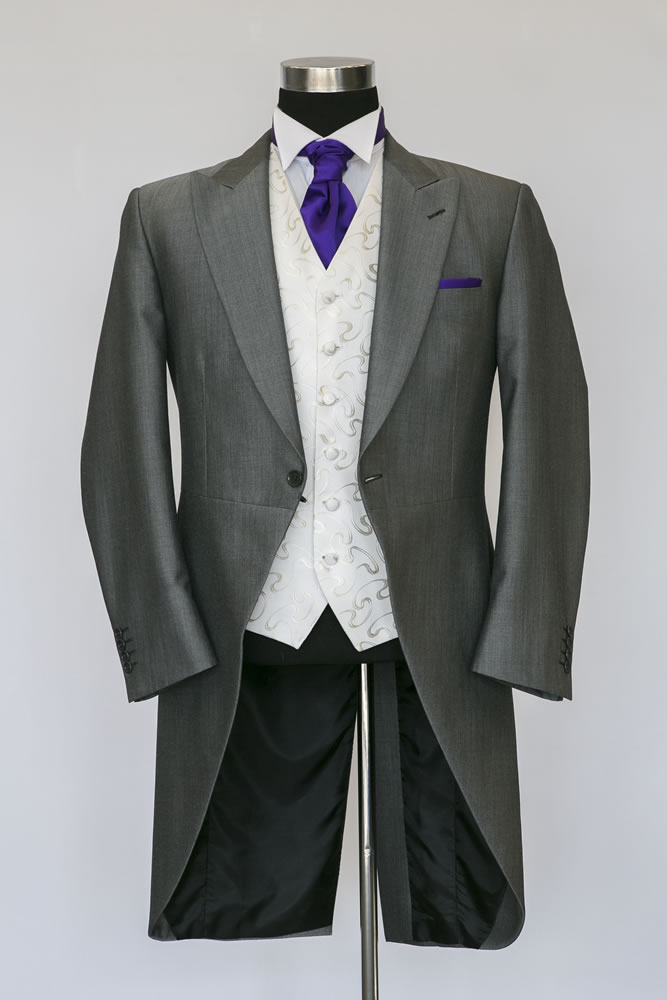 Silver Mohair Morning Suit 2