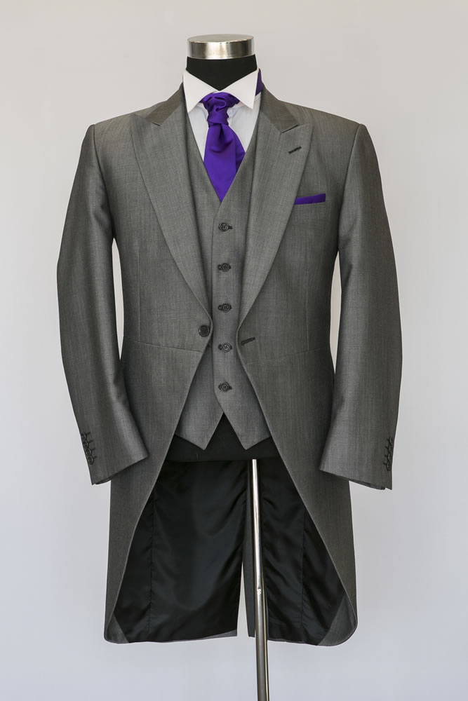 Silver Mohair Morning Suit 3