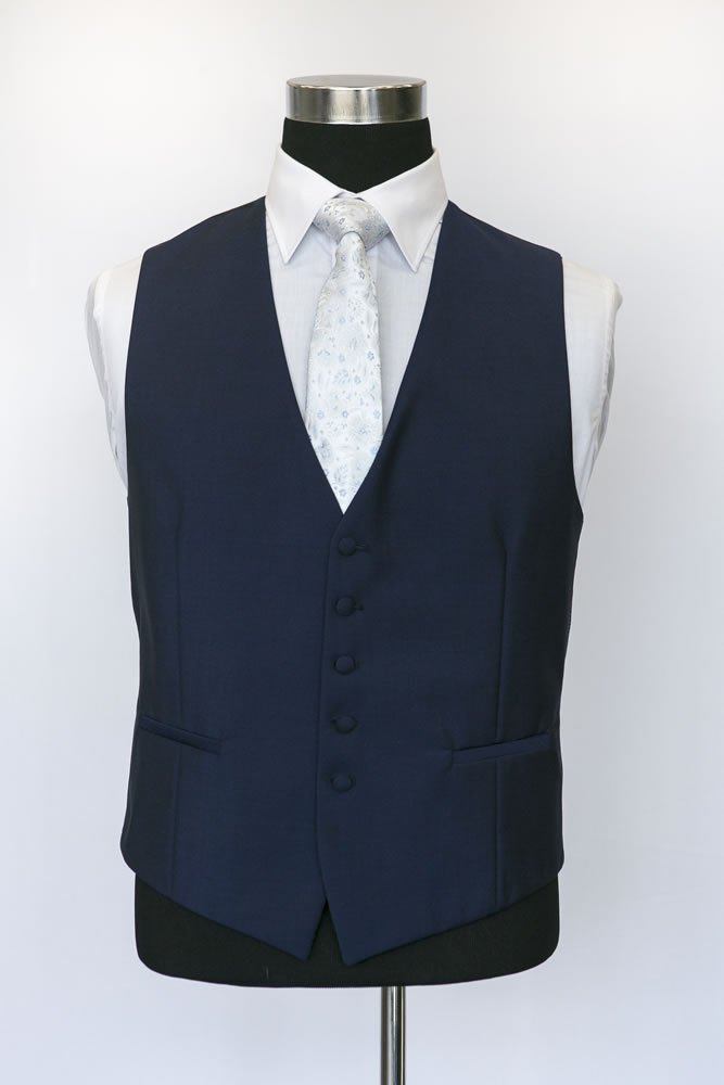 Single Breasted Royal Navy Waistcoat