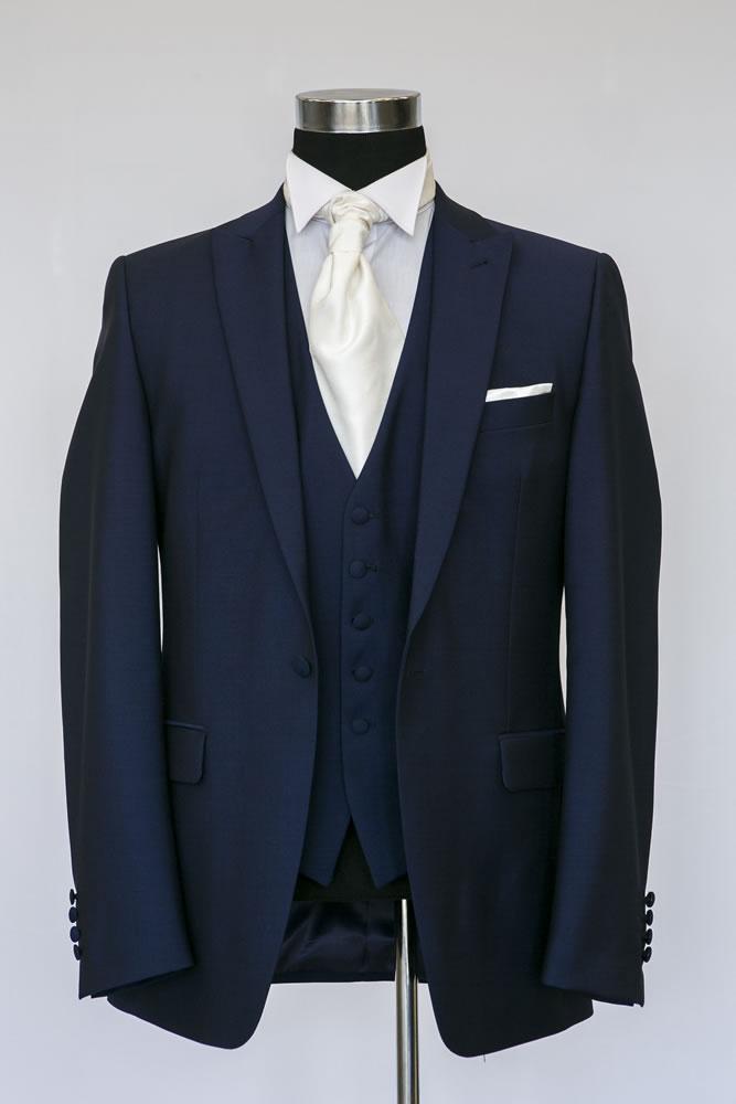 Slim Navy Lounge Suit 1