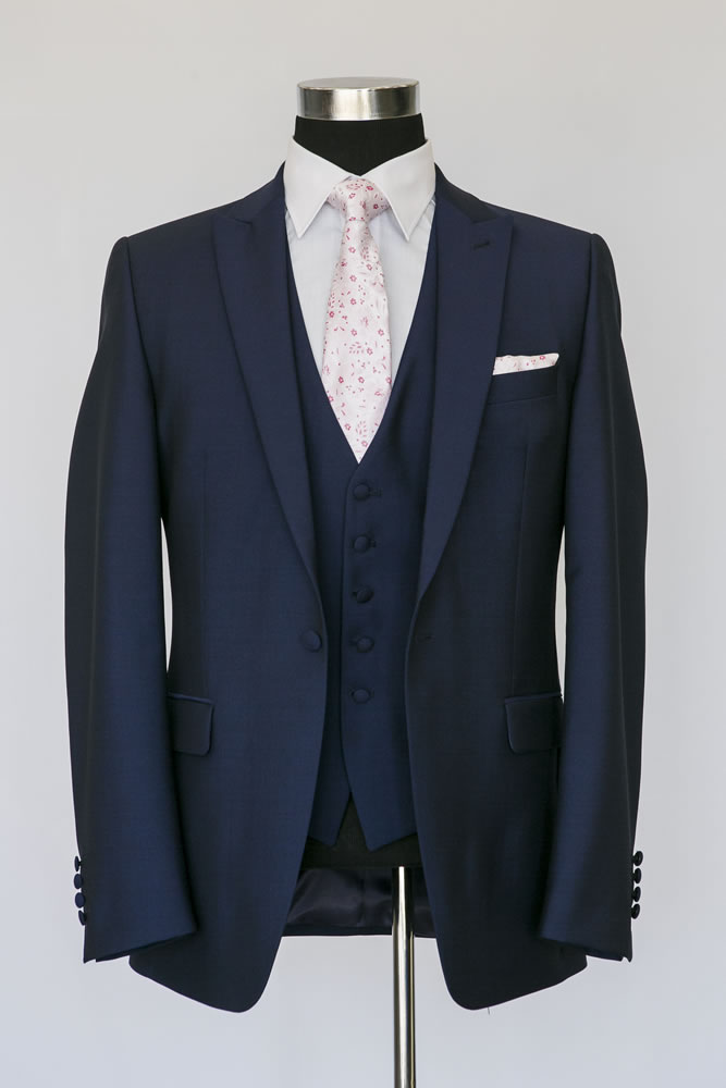 Slim Navy Lounge Suit 2