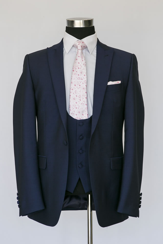 Slim Navy Lounge Suit 3