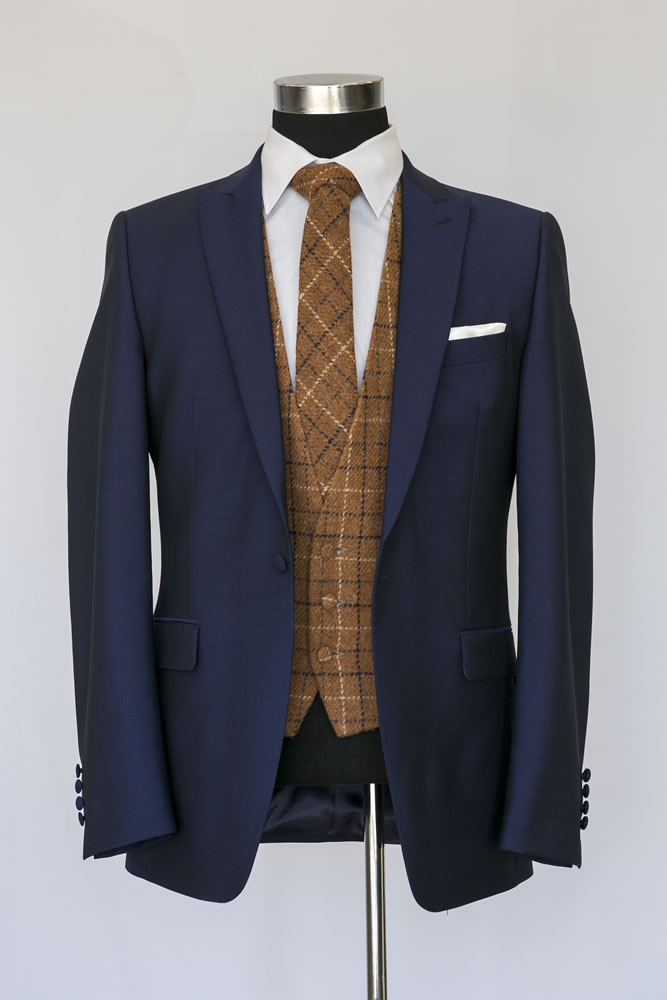 Slim Navy Lounge Suit