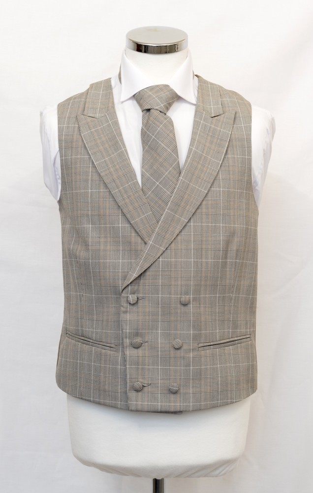 db brown prince of wales waistcoat